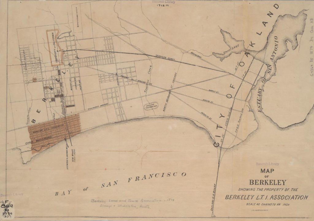 Berkeley Map 1874