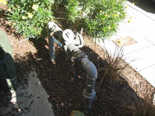 Irrigation shutoff main valves